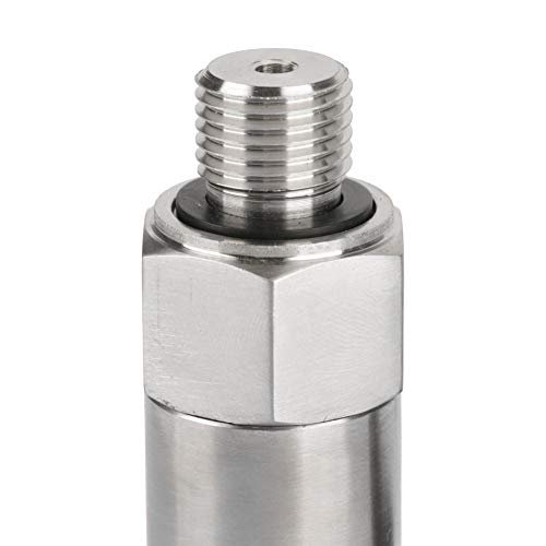 4-20mA Output G1//4 Silicon Pressure Transmitter,Transducer for Water Gas Oil Transducer Size : 0-0.2MPA