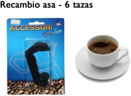 RECAMBIO ASA CAFETERA 6 TAZAS: Amazon.es: Hogar