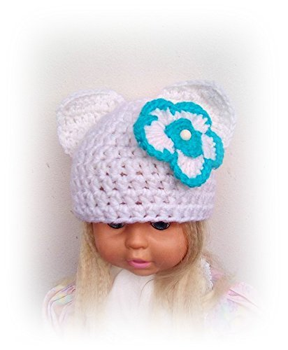 Amazoncom Baby Hat Toddler Crochet Hat Toddler Girl Crochet Hat