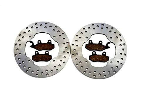 2014 2015 Can-Am Maverick 1000R 4x4 XXC Front Brake Rotors and Front Brake Pads