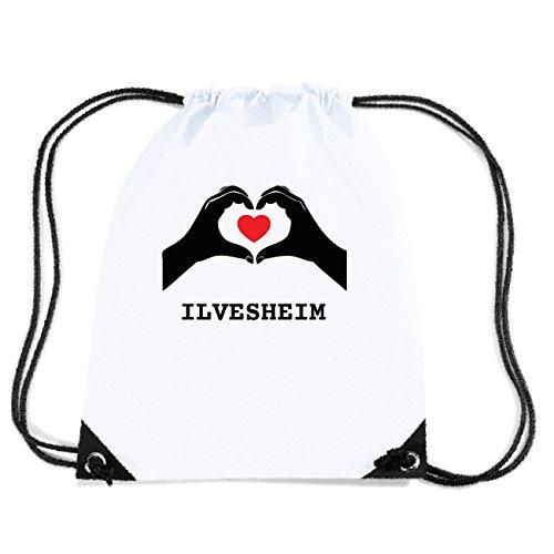 JOllify ILVESHEIM Turnbeutel Tasche GYM2670 Design: Hände Herz