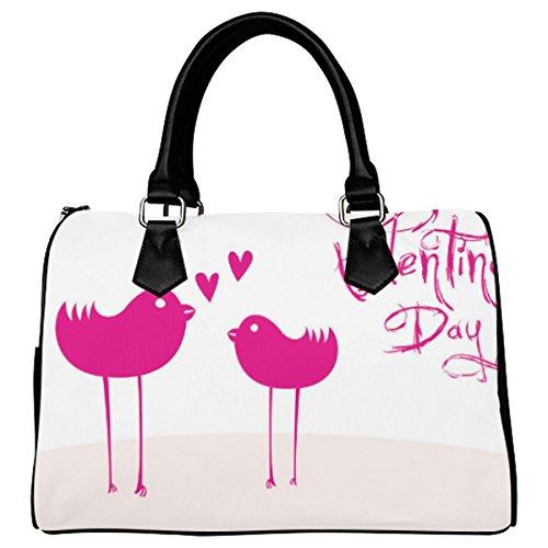 Jasonea Women Boston Handbag Top Handle Handbag Satchel Valentine Day Basad109824