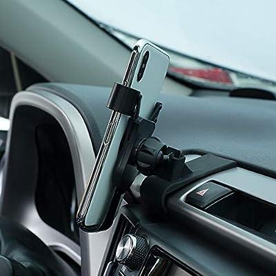 HIGH FLYING Rotational Smartphone Holder Air Vent Car Mount Holder for Toyota RAV4 2014-2020 (Black): Automotive