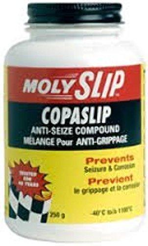 MOLYSLIP COPASLIP Anti-Seize Compound 250 g. Jar with Brush - case of 6 by CopaSlip