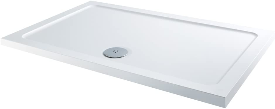 Home Standard 1000mm x 760mm Low Profile Rectangular Shower Tray