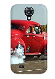 For Galaxy S4 Premium Tpu Case Cover Drag Racing Protective Case