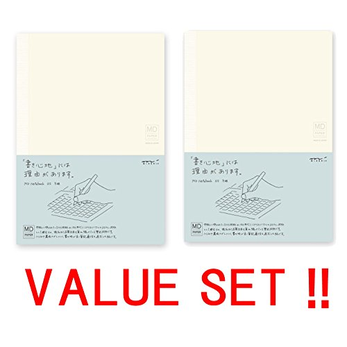 2 midori md notebook a5 grid paper import it all