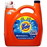 Ultra Concentrated Tide Ultra Oxi Liquid Laundry Detergent, (138 fl. oz.) AS