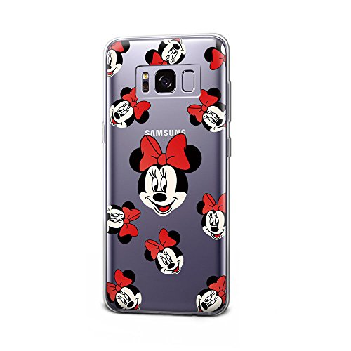 GSPSTORE Galaxy S8 Case Disney Cartoon Mickey Minnie Mouse Soft Transparent TPU Protection Cover For Samsung Galaxy S8 #9