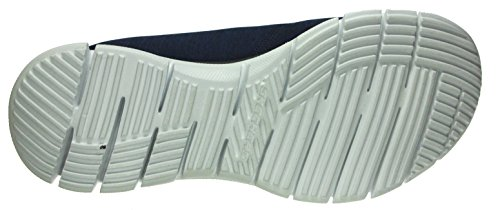 para Electricity Mujer Skechers White Turqouise Navy Glider Zapatillas 6Rt7FqxT