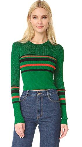 diane-von-furstenberg-womens-long-sleeve-pullover-green-envy-black-dare-red-large
