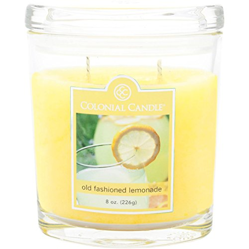 Old Fashioned Lemonade Collection Large Oval Jar Colonial Candle, 22 - Colonial Candle Votives