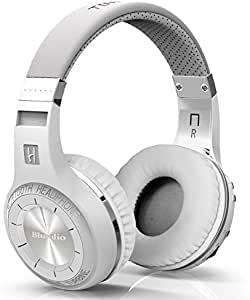 white color Bluedio Turbine Hurricane H Bluetooth 4.1 Wireless Stereo Headphones Headset