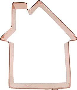 CopperGifts: House Cookie Cutter - Traditional 4-1/2 inch