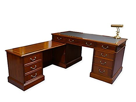 Antike Fundgrube Escritorio Esquina Oficina Muebles Caoba Estilo ...