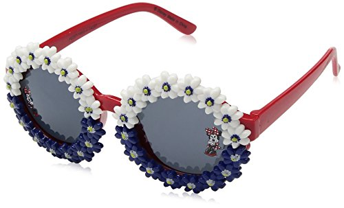 Disney Minnie Mouse Red White and Blue Floral Sunglasses For -