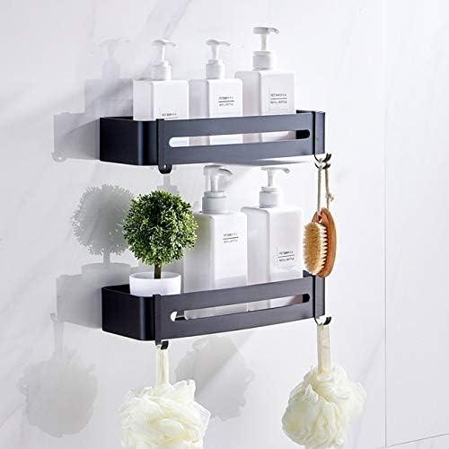 Kitchen Bathroom Wall Storage Shelf Hanging Rack Corner Basket Holder Organizer.