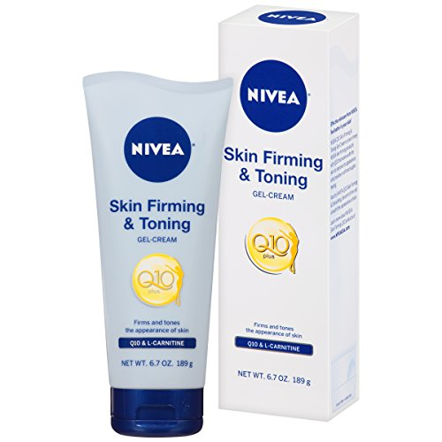NIVEA Skin Firming and Toning Gel-Cream, 6.7 Ounce (Pack of 2)