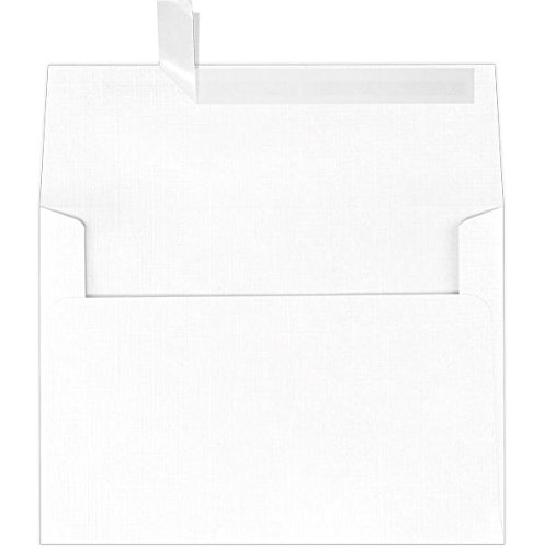 A9 Invitation Envelopes (5 3/4 x 8 3/4) - White Linen (25...