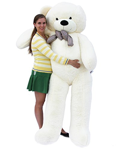 Joyfay Giant Teddy Bear 78''(6.5 Feet) White by Joyfay (Image #6)