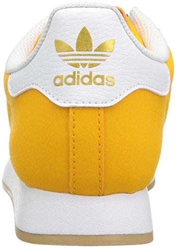 Adidas Originaux Samoa Retro Sneaker Collégiale Or / Blanc / Métallique / Or