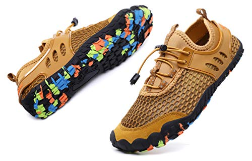51d694afb718 MOHEM Mens Womens Casual Mesh Water Shoes