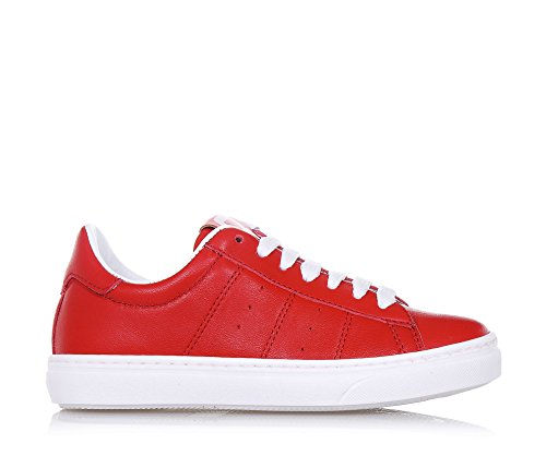 CIAO BIMBI - Zapato de cordones rojo de cuero, la atención a cada detalle y capaz de combinar estilo, calidad y seguridad, Niño, Niños