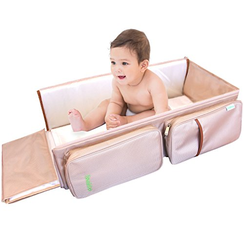 3-in-1-baby-travel-bassinet-changing-station-diaper-bag-by-hominize-beige-premium-portable-sleeping-