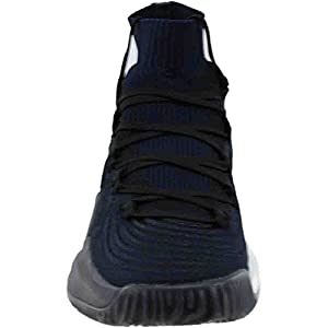adidas Originals Men's Shoes | Crazy Explosive 2017 Primeknit Basketball, Black/Grey Four/Dark Navy, (11 M US)