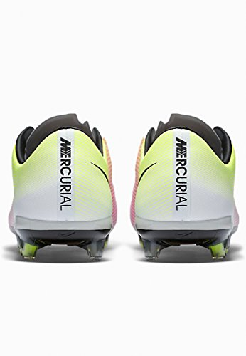 da Blanco FG White Scarpe Orange Vapor Uomo X Nike total Blanco Calcio Black Mercurial volt wxzqtBX