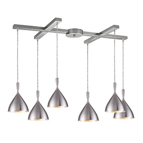 Spun Aluminum Pendant Light - 6