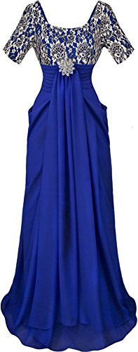 angel-fashions-womens-empire-lace-scoop-pleats-draping-half-sleeves-evening-dress-small