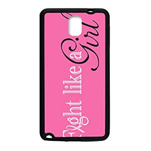 fight like a girl Phone Case for Samsung Galaxy Note3 Case