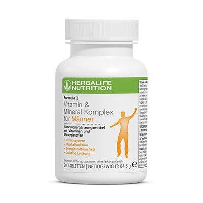 Herbalife multivitaminico para hombre 60 tabletas