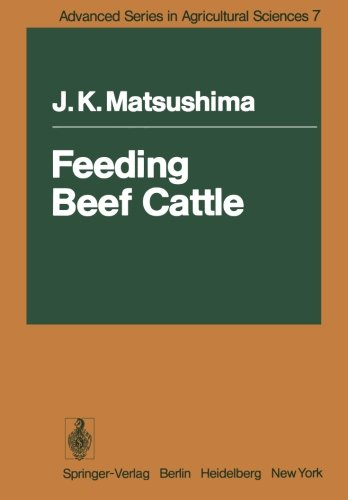 Feeding Beef Cattle (Advanced Series in Agricultural Sciences)