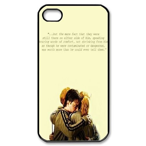 DIY Harry Potter Hard Case for iPhone 4, iPhone 4S, Personalized Harry Potter Iphone 7 Hard Cover Case, Custom Harry Potter Phone 4S Cover