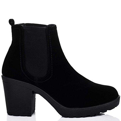Amazon.com | Spylovebuy Yael Women's Block Heel Ankle Boots Pumps | Shoes