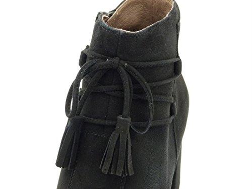 Nero Noir Giardini femme montantes baskets SgqpS