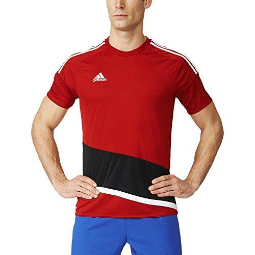 97eeca7a609 Blanco Regista Hombre Adidas 16 rojpot Trikot Camiseta Negro Kurzarm Rojo  8Eqp6A