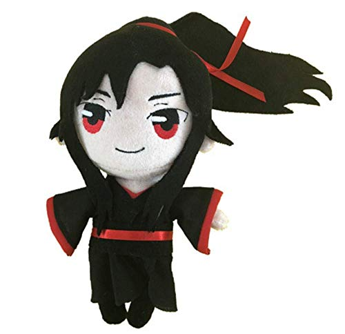 Furnite Anime Mo Dao Zu Shi Grandmaster of Demonic Cultivation LAN Wang Ji Wei Wu Xian Mushy Plush Toy Stuffed Doll Present (Wei Wuxian)