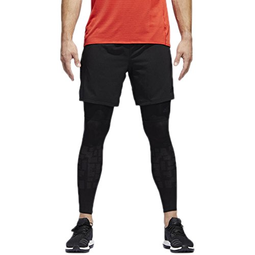 adidas Men's Running Supernova Shorts, Black, (Adidas Nova Short)