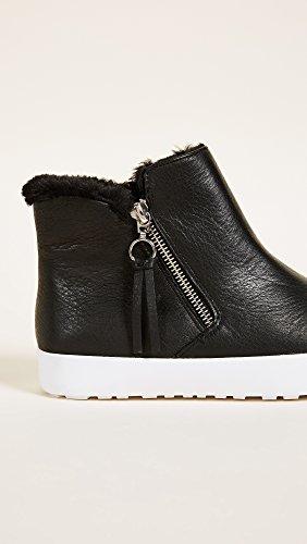 Rebecca Minkoff Womens Shelly Zip Hoge Top Sneakers Zwart