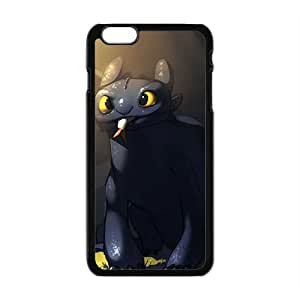 Lovely black greedy cat Cell Phone Case for iPhone plus 6