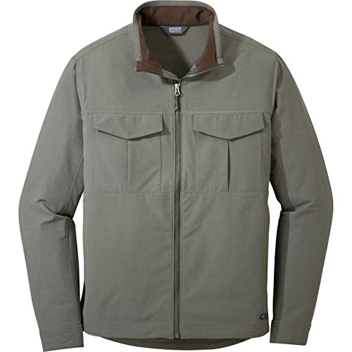 Outdoor Research Men's Prologue Field Jacket, Fatigue Heather, Large