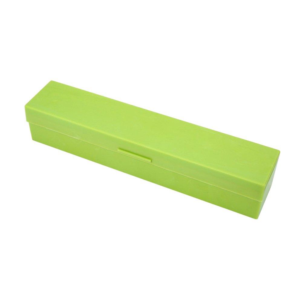 OUNONA Dispensador cortador de film de cocina de acero inoxidable verde