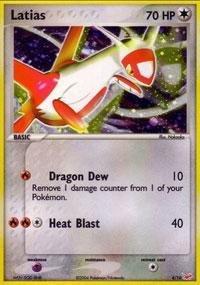 Pokemon - Latias (4) - EX Trainer Kit 1 Red - Reverse Holofoil