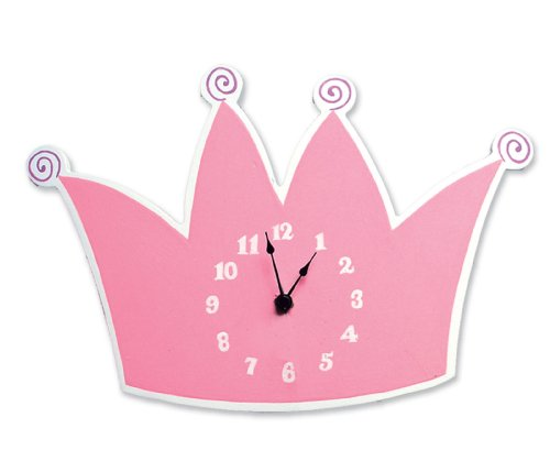 Trend Lab Tiara Wall Clock (Wall Clock Princess)