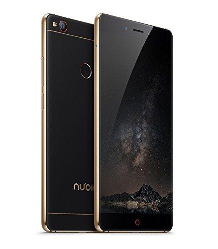 """Nubia Z11 - Smartphone 5.5"""" (memoria interna de 64 GB, 6 GB de RAM, cámara de 16 MP, Android 6.0.1) color oro y negro: Nubia"""