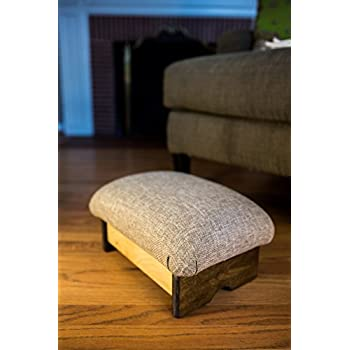 Amazon Com Ottoman Footrest Pu Leather Footstool