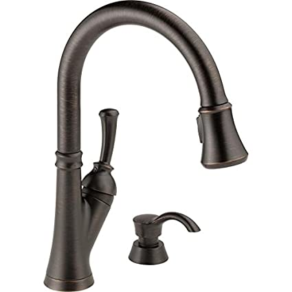 Delta Savile 19949Z-RBSD-DST Kitchen Faucet - - Amazon.com